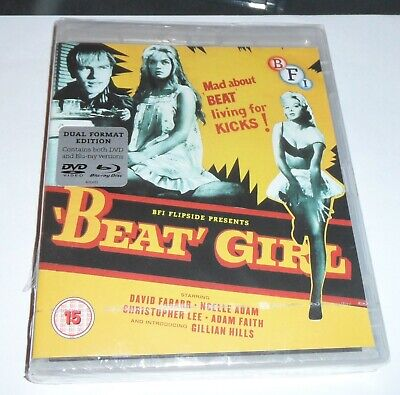 Beat Girl - Dual Format Edition - DVD & Blu ray NEW & SEALED