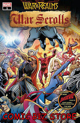 War Of The Realms War Scrolls #1 (Of 3) (2019) 1St Printing Main Cover ($4.99)