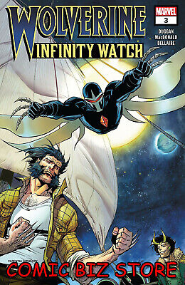 Wolverine Infinity Watch #3 (Of 5) (2019) 1St Printing Main Cover Marvel Comics