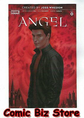 Angel #0 (2019) 1St Printing Boris Pelcer Main Cover  Buffy Tie-In Boom Studios