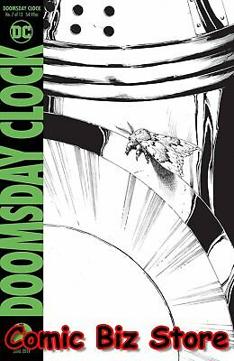Doomsday Clock #7 (Of 12) (2019) Final Printing Frank Variant Cover Dc Universe