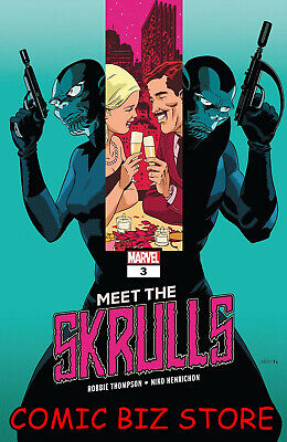 Meet The Skrulls #3 (Of 5) (2019) 1St Printing Bagged & Boarded Marvel Comics