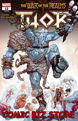 Thor #12 (2019) 1St Printing Mike Del Mundo Main Cover Bagged & Boarded