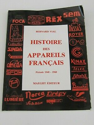 The History of French Cameras from 1940-1960 Book - 154 Pages