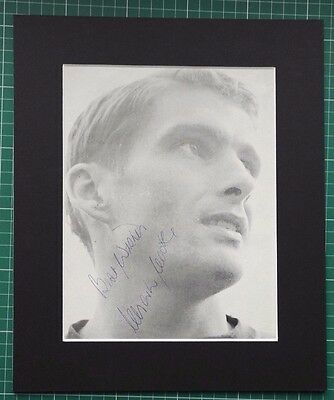 CHARLIE COOKE CHELSEA SIGNED MOUNTED MAGAZINE PICTURE 12 x 10 MOUNT COA