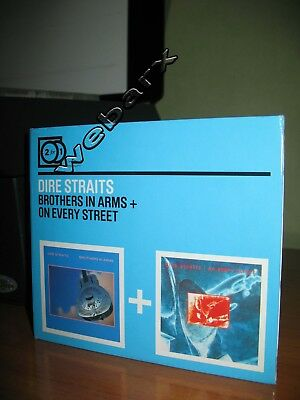 Dire Straits Brothers In Arms + On Every Street Cd 2 For 1 Nuovo Sealed