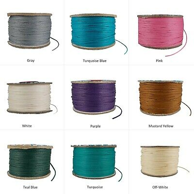 Jewelry Making Cord Waxed Cotton String 0.5 mm 1 Roll Beading DIY Craft Projects
