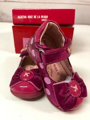Girls Shoes Agatha Ruiz de la Prada Size UK 2.5/ EU 18