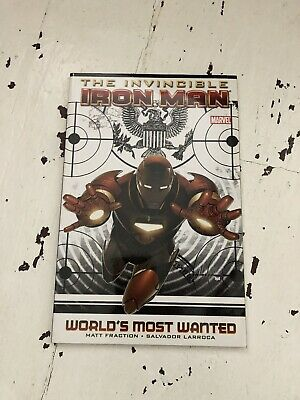 Marvel: The Invincible Iron Man - Worlds Most Wanted #8-13 Matt Fraction