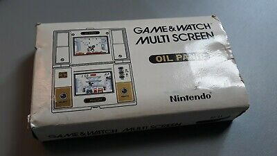 Nintendo Game & Watch OIL PANIC boxed & complete