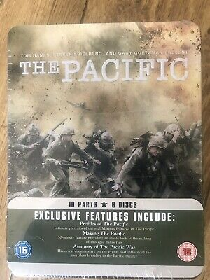 The Pacific (DVD, 2010, 6-Disc Set, Steel Box Set) New & Sealed