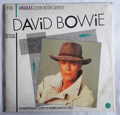 David Bowie Anabas IllUStrated Biography -  UK Paperback Music Book