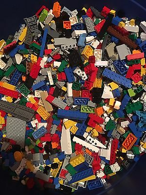 Lego 1 LB Of Random Parts & Pieces HUGE BULK LOT bricks blocks other pieces