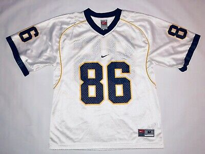 1e9575e3073f Michigan Wolverines Nike Football Jersey Youth Medium White NCAA College  86