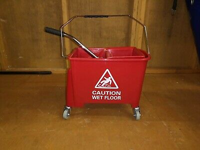 Professional 20L Kentucky Mop Bucket Wringer Cleaning Mopping