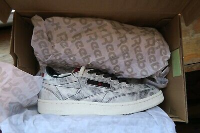 ef6704ba REEBOK CLUB C Kendrick Lamar Acid Wash Retro Kdot Mens Sneakers New ...