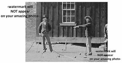 RARE Discovery! Billy the Kid PHOTO William Bonney REGULATORS Gang Members