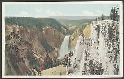 "Yellowstone Nacional Parque, Wyoming. Lower Falls Of The ""Phostint"" Pc"