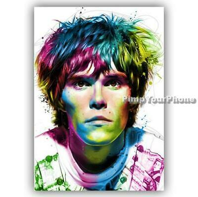 Ian Brown The Stone Roses Poster Art Print - A4 A3 A2 A1 A0 Sizes