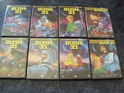 lot de 8 DVD   ULYSSE 31  (26 épisodes)