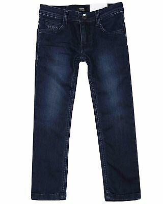 HUGO BOSS Boys Basic Jogg Jeans Dark Blue, Sizes 6-16