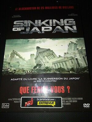 Sinking Of Japan /*/ Dvd Fantastique Neuf/Cello