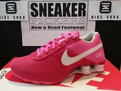 new concept 0bc96 84ca4 Nike Shox Deliver Pnt GS - 616542 616 - Dk Red   Pink - White -