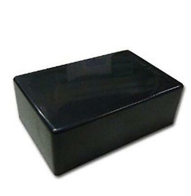 Black Plastic Cover Project Electronic Instrument Case Enclosure Box SM TCUS