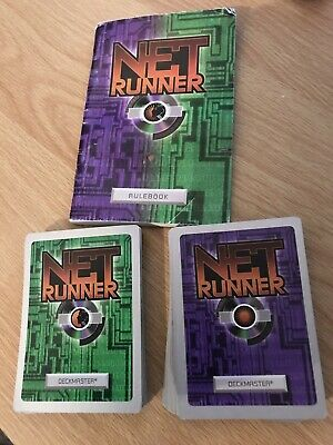 Android Netrunner Bundle 60 Cards With Rule Book.