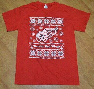 eb311a09 DETROIT RED WINGS NHL Hockey Adult Ugly Christmas Socks Crew NEW ...