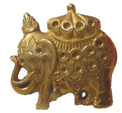 Royal Elephnat Shape Brass Drawer Knob Cabinet Pull Handle Table Home Decor Gift