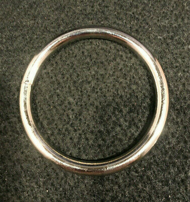 "O Ring - 2 1/2"" - Nickel Plated - Pack of 16 (F254)"