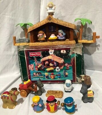 Little People Nativity Set Deluxe Christmas Story Fisher Price Music