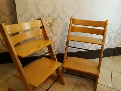 2 X Stokke Tripp Trapp High Chairs