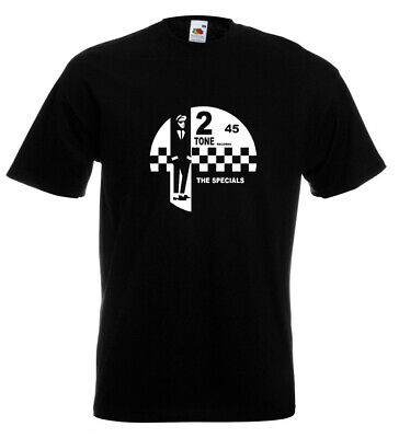 2 Tone Records T Shirt The Specials SKA Northern Soul Reggae Madness