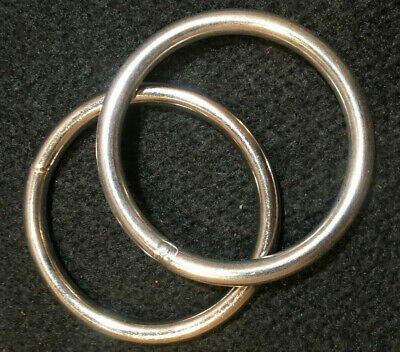 "O Ring - 2 1/2"" - Stainless Steel - Pack of 2 (F257)"