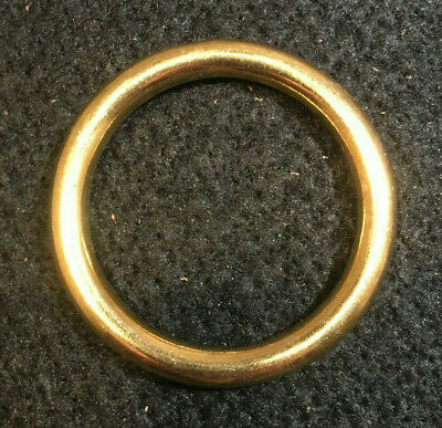 "O Ring - 1 3/4"" - Solid Brass - Pack of 16 (F256)"