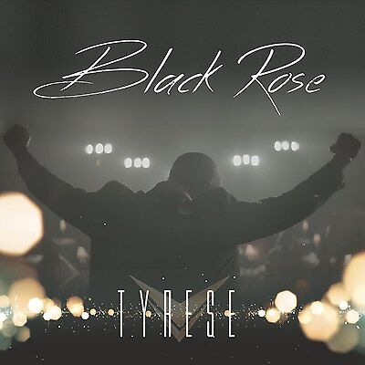 Tyrese - Black Rose (Deluxe Edition CD + DVD 2015) NEW & SEALED Digipak