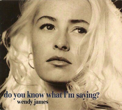 Wendy James Do You Know What I'm Saying Cd1 3 Track Cd Single Transvision Vamp
