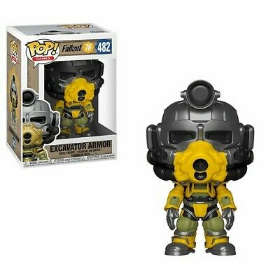 Fallout 76 - Excavator Power Armor - Funko Pop! Games: (2019, Toy NUEVO)
