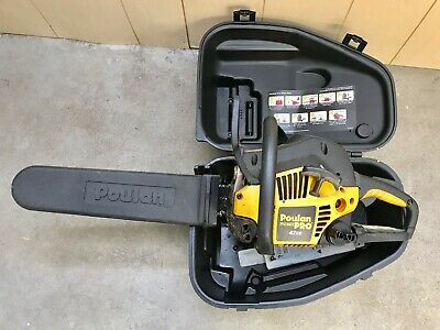 Poulan Pro 42CC 2 Cycle Gas Chainsaw w/Carrying Storage case