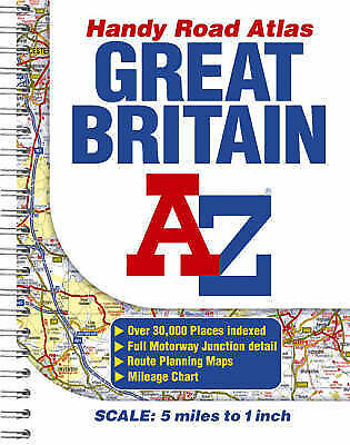 Great Britain Handy Road Atlas, Great Britain | Used Book | Fast Delivery