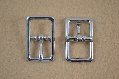 "Buckle, Bar - 1/2"" - Nickel Plated - Pack of 100 (F326)"