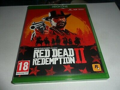 Red Dead Redemption 2    X Box Game  New But Not  Sealed