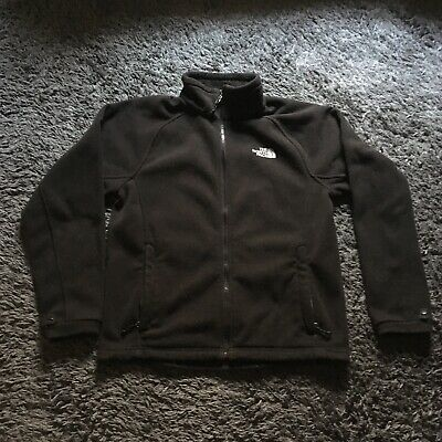 716a489f4 THE NORTH FACE TKA 100 Fleece Jacket Mens Size S TNF Black Full Zip ...