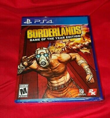NEW Sealed Damaged Box LOW PRICE! IN HAND RARE Borderlands Game of the Year PS4