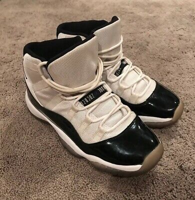 check out bbd68 6e682 Air Jordan 11 Retro (GS) Concord Size 5Y Nike White Black 378038-107