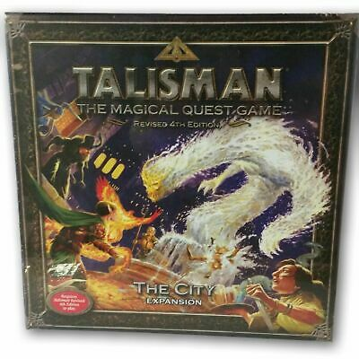 Board Game Talisman The City Expansion Fantasy Flight Games Sealed OOP
