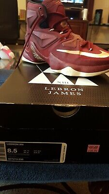 577ea2e0cee NIKE LEBRON XIII 13 Cavs Red Gold James 807219 690 size 10 -  109.00 ...