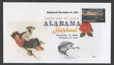 ALABAMA STATEHOOD ** 200th ANNIVERSARY 1819-2019 **  FIRST DAY COVER